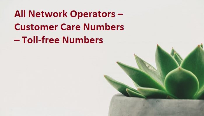 all network operators