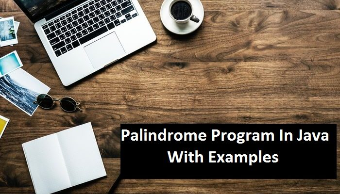 Palindrome Program